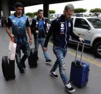 La delegación brasileña de Santos llegó a Guayaquil donde jugará con Barcelona.
