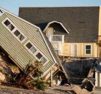 Casa con daños a causa de huracán Irma en Florida. Foto: AFP