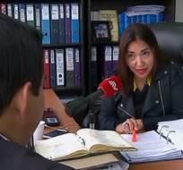 GUAYAQUIL, Ecuador.- Blum alega que se abstuvo de denunciar en ese año las irregularidades porque no esperaba que se las investigue de forma independiente. Foto: Captura Video.