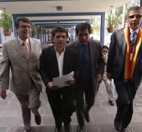 QUITO, Ecuador.- El denunciante cree que hubo injerencia de altos funcionarios en el juicio en su contra. Foto: API