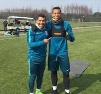 El argentino Carlos Tevez y el colombiano Fredy Guarín no podrán jugar en el equipo hasta ponerse en forma.