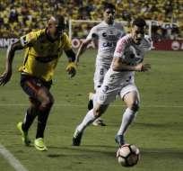 Una buena taquilla le quedó a Barcelona luego del partido ante Santos por Conmebol Libertadores.