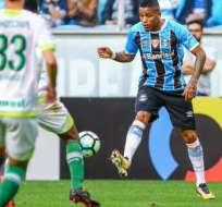 Michael Arroyo perdió el duelo de ecuatorianos ante Chapecoense en el fútbol brasileño.