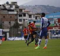 Deportivo Cuenca perdió la punta del torneo local en su visita a Sangolquí.