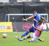 Carlos Garcés le dio el triunfo a Delfín en el Jocay sobre Independiente del Valle.