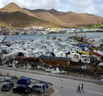 Varias islas del Caribe aún no se recuperan del paso del devastador huracán Irma. Foto: AFP