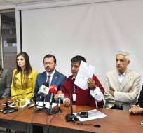 QUITO, Ecuador.- Según el legislador Fabricio Villamar, es necesario que el funcionario acuda a la Asamblea Nacional y ante el pleno explique lo ocurrido. Foto: API
