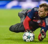 Neuer, de 31 años, se lesionó en el pie izquierdo y se someterá a pruebas médicas. Foto: AFP