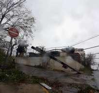 SANTO DOMINGO, República Dominicana.- Autoridades suspendieron actividades con el fin de preservar vidas. Foto: AP.