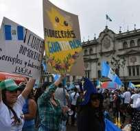 Parlamento evitó el comienzo de una investigación penal contra Jimmy Morales. Foto: AFP