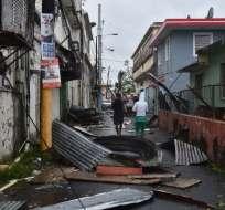 Gobierno de Dominica reporta al menos 15 personas muertas.