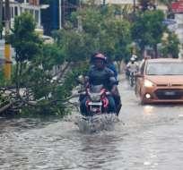 República Dominicana suspendió la jornada laboral como medida de prevención. Foto: AFP