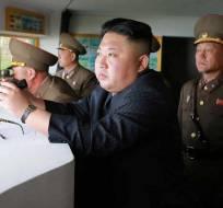 """Líder norcoreano dijo que el comportamiento de Trump es de un """"trastornado"""". Foto: Archivo"""
