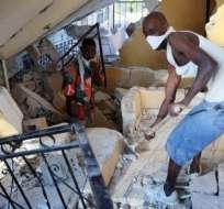 Las labores de desescombro en busca de supervivientes se prolongaron durante más de dos semanas en Haití, que vivió en 2010 el terremoto más catastrófico de la región.