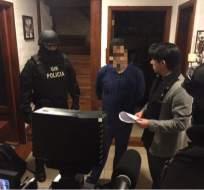 El investigado, Esteban P. sería hermano de Andrés Páez, del movimiento CREO. Foto: Fiscalía