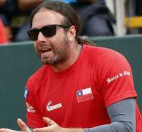El chileno Nicolás Massú es el capitán del equipo de Copa Davis de su país.