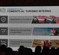 Se espera que en el futuro ingrese al país un turista por cada ecuatoriano. Foto: API