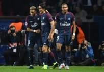 El delantero francés (d.) dio dos asistencias en el triunfo del PSG sobre Bayern Munich. Foto: AFP