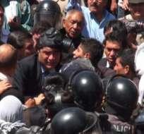 Colectivos ciudadanos rindieron un homenaje a los fallecidos del 30-S de 2010. Foto: Archivo ANDES