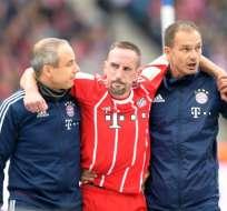 Se espera el pronunciamiento oficial del club sobre la lesión que sufrió el francés.