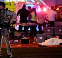 Con al menos 50 muertos, la matanza de Las Vegas es una de las peores registradas en la historia contemporánea de EE.UU.