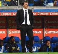 El entrenador argentino-boliviano llegó a Guayaquil con Universidad Católica de Chile. Foto: Archivo