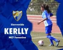La lateral ya debutó con el equipo español el pasado fin de semana. Foto: Tomada de la página web www.malagacf.com