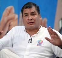 El exmandatario dio una entrevista al canal de noticias CNN en Español. Foto: Archivo Presidencia