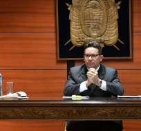 QUITO, Ecuador.- El magistrado fijó para este viernes la audiencia de revisión de medida sustitutiva para Glas. Foto: API