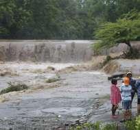 En Nicaragua 11 personas murieron y 7 permanecen desparecidas, dijo la vicepresidenta. Foto: AFP