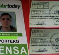 CARCAS, Venezuela.- Roberto Di Matteo, Filippo Rossi y Jesús Medina se encontraban en el penal de Tocorón. Foto: Tomado de Caraota Digital.com.