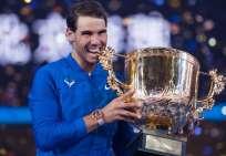 El tenista español no ha podido comenzar la temporada debido a su dolencia en la rodilla. Foto: Archivo/AFP
