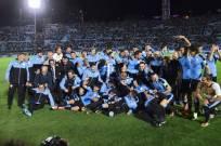 La selección uruguaya terminó en segundo puesto de las eliminatorias con 31 puntos +12 de gol diferencia. Foto: AFP
