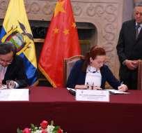 QUITO, Ecuador.- Wang Yulin, embajador de China en Ecuador, aclaró que autoridades ecuatorianas no han solicitado colaboración de su país para investigaciones de corrupción. Foto: Twitter Cancillería.