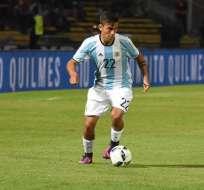 El argentino Paulo Dybala se llevó un recuerdo tras su visita al estadio Capwell.