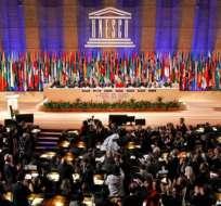 """""""La universalidad es esencial para la misión de la UNESCO"""", dijo la directora general Irina Bokova. Foto: RTVE"""