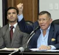 El presidente de Ecuafútbol habla de una sanción ejemplarizadora para los implicados.