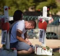 No hay evidencia de que el tirador haya actuado por afiliación a algún grupo. Foto: AFP