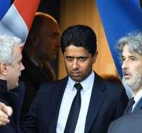 La FIFA abrió una investigación en contra del presidente del Paris Saint Germain.