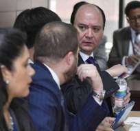 Enríquez presidió la audiencia de apelación a prisión preventiva a solicitud de Glas. Foto: API