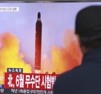 """En septiembre, Trump amenazó con """"destruir totalmente a Corea del Norte"""". Foto: Archivo AP"""