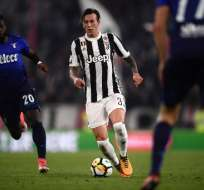 El ecuatoriano Felipe Caicedo tuvo minutos en el triunfo de visitante de la Lazio sobre Juventus.