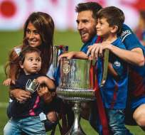 La pareja argentina anunció en redes sociales que esperan su tercer hijo.