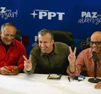 Oposición insiste en que sus gobernadores no se juramentarán ante la Constituyente. Foto: AFP