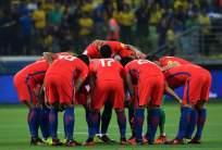 La selección chilena quedó fuera del repechaje para el Mundial por 1 punto. Foto: AFP