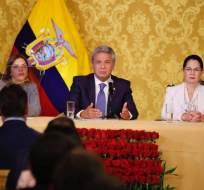 QUITO, Ecuador.- El mandatario habló del tema durante firma de Acuerdo Nacional por la Producción y Empleo. Foto: Presidencia de la República