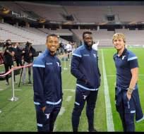 El ecuatoriano Felipe Caicedo podría sumar minutos con la Lazio en su visita al Niza.