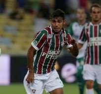 Junior Sornoza marcó en la victoria del Fluminense sobre Sao Paulo por el Brasileirao.