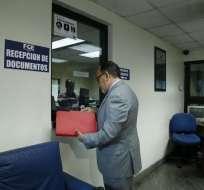 QUITO, Ecuador.- Según Hernán Ulloa, Diego García intervino en todas las fases que dieron paso a la contratación de Odebrecht. Foto: API
