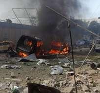 Los atentados de Kabul y Ghor se producen al término de una semana particularmente sangrienta en Afganistán. Foto: @Milenio